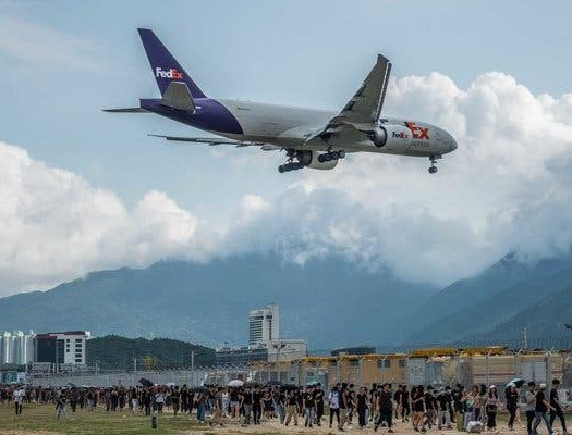 HONG KONG AIRPORT CANCELS ALL FLIGHTS - travel treasures
