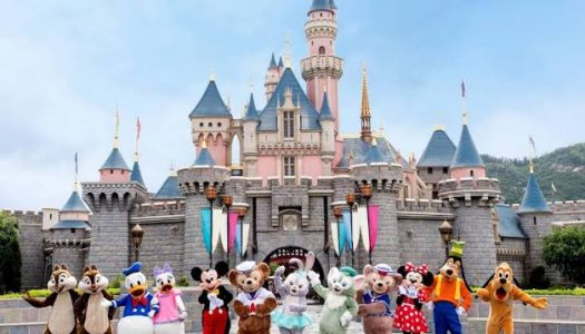 Fun Recreational Day at Hong Kong Disneyland