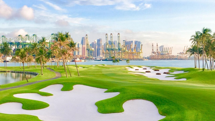 serpong sentosa golf club singapore - travel treasures