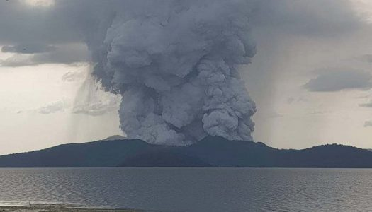 Philippines' Taal Volcano Ashfall Suspends Flights in Manila
