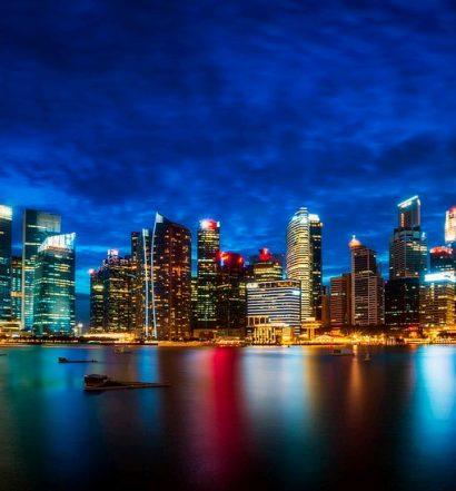 Singapore skylight - travel treasures