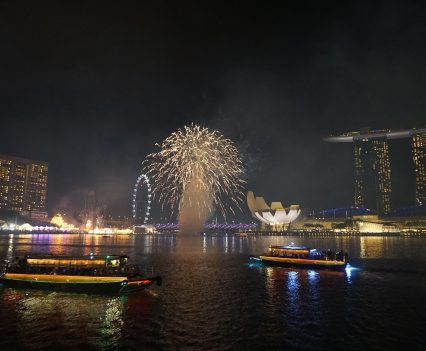 fireworks singapore - travel treasures