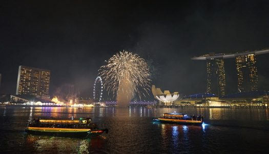 Best Places to Watch NYE Fireworks in Singapore