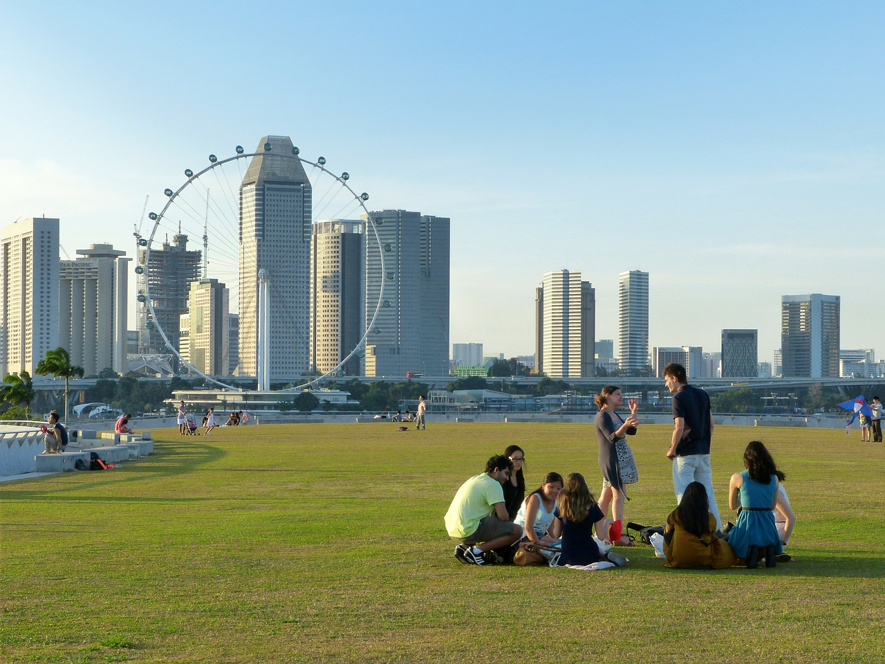 Marina Barrage - travel treasures