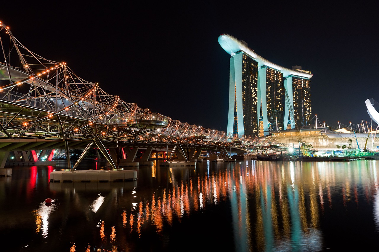 The Helix bridge - travel treasures