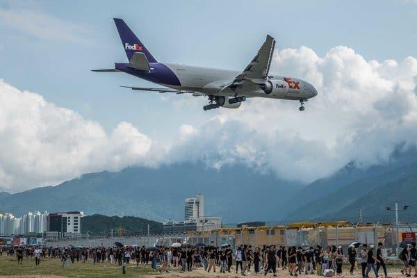 HONG KONG AIRPORT CANCELS ALL FLIGHTS - travel treasures