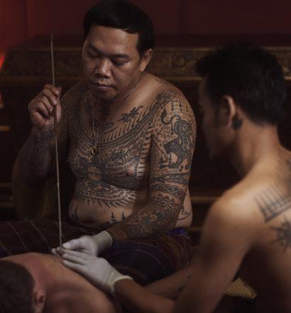 Private sacred tattoo session - travel treasures