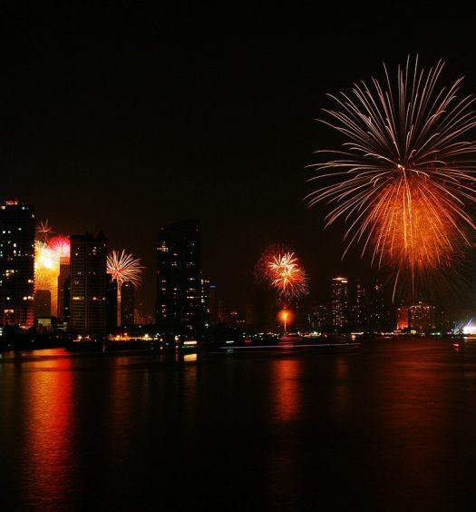 fireworks thailand - travel treasures