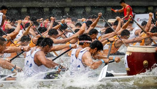 Royal Thai Navy Wins at the 2020 Elephant Boat Race and River Festival