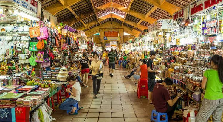 Ben Thanh Market - travel treasures