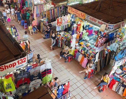 vietnam local market - travel treasures