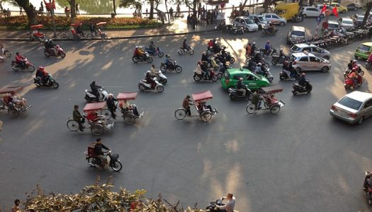 Get in Touch with the Chaotic Road of Vietnam